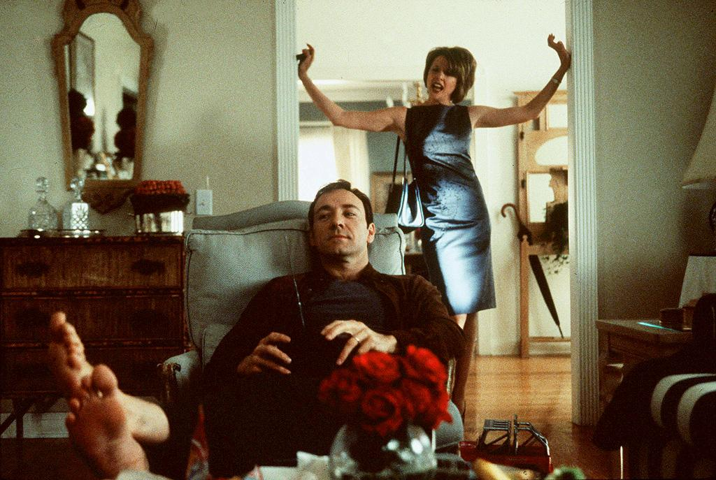 """<a href=""""http://movies.yahoo.com/movie/1800018623/info"""">American Beauty</a> (1999): In retrospect, a plastic bag floating in the wind is not the most beautiful thing in the world, but actually kind of a pretentious metaphor. Still, director Sam Mendes and writer Alan Ball were onto something here, tapping into a sense of dissatisfaction and self-doubt within seemingly idyllic suburbia at the turn of the millennium. With its dreamy, often surreal imagery (the work of the late, great cinematographer Conrad L. Hall), it's shot and edited gorgeously. But it's also laceratingly funny, with a career-defining performance from Kevin Spacey. And oh yeah, it won five Academy Awards, including best picture."""