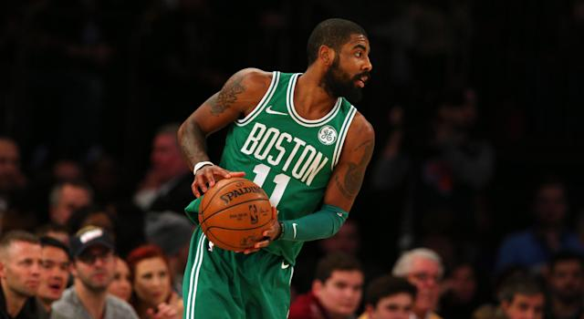 "Will <a class=""link rapid-noclick-resp"" href=""/nba/players/4840/"" data-ylk=""slk:Kyrie Irving"">Kyrie Irving</a> return to his All-NBA form? (AP)"