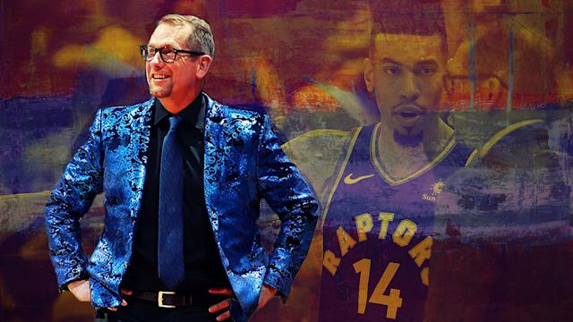 Nick Nurse has more drip than you.