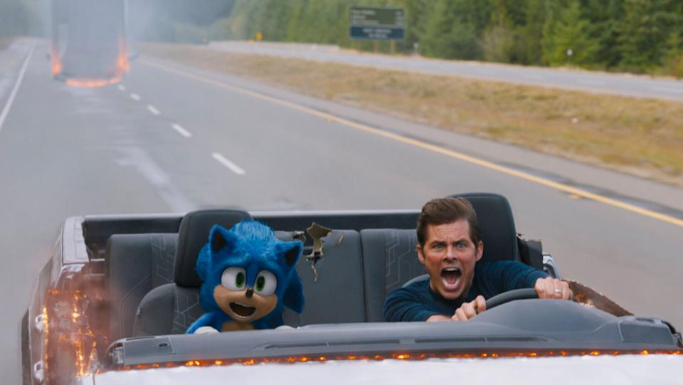 The live action Sonic movie sped to the top of the box office at the start of 2020, and has been an enduring hit at home throughout the year. A sequel is on the way soon.