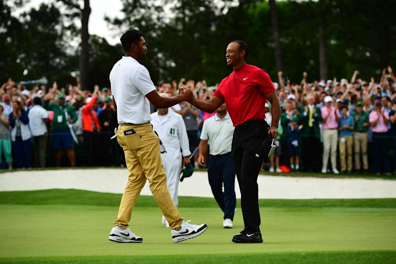 Tiger Woods played a cruel prank on Tony Finau before telling him he was a captain's pick