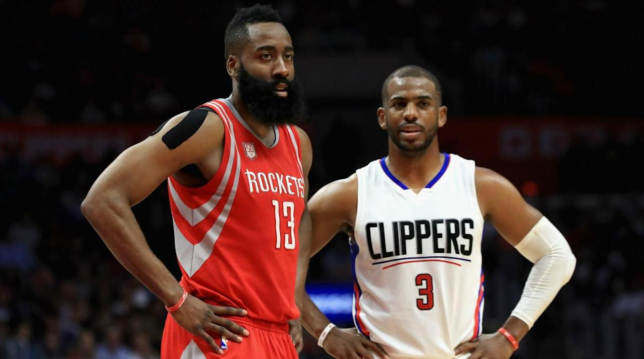 """<p>The NBA draft is over, and the rumor mill continues to buzz as usual—with the futures of several stars still in question.</p><p>Paul George, Kristaps Porzingis and other big names could be on the move, though the passing of the draft likely makes it more difficult to trade.</p><p>Chris Paul, Blake Griffin, Gordon Hayward and Paul Millsap are among a number of quality free agents. Don't rule anything out.</p><p>Free agency begins on Saturday, and teams are busy making final moves before the new collective bargaining agreement goes into effect.</p><p>• <strong><a rel=""""nofollow"""" href=""""https://www.si.com/nba/2017/06/22/nba-draft-grades-players-teams-76ers-lakers-celtics"""">2017 NBA draft grades: Pick-By-Pick analysis</a>  <a rel=""""nofollow"""" href=""""https://www.si.com/nba/2017/06/23/2017-nba-free-agency-primer-warriors-cavaliers-jazz-gordon-hayward-blake-griffin"""">2017 NBA free agency primer </a></strong></p><p>Here's a look at the latest rumors from around the league.</p><p>• The New York Knicks have """"legitimate"""" interest in re-signing point guard Derrick Rose. (Ian Begley, <a rel=""""nofollow"""" href=""""https://twitter.com/IanBegley/status/879816783443746816"""">ESPN</a>)</p><p>• LeBron James will not leave the Cleveland Cavaliers for the Los Angeles Clippers, <a rel=""""nofollow"""" href=""""https://ec.yimg.com/ec?url=http%3a%2f%2fwww.espn.com%2fespnradio%2fplay%3fid%3d19722531%26quot%3b%26gt%3baccording%26lt%3b%2fa%26gt%3b&t=1498663276&sig=KZuY7G2_3sR.85McoaQwhg--~C to Mike Wise of The Undefeated while chatting with the Freddie Coleman and Fritz show.</p><p>""""I got from a very good authority – a very good authority – that LeBron James will never be a Clipper,"""" Wise said on the show. """"I can't tell you who, but I'm going to tell you it's somebody that knows, and LeBron James will never be a Clipper. I don't know if that's because he remembers what the Clippers used to be, or he just doesn't want to put his lot in there, or he thinks Steve Ballmer is just too animated on the sideline.""""</p><p>"""