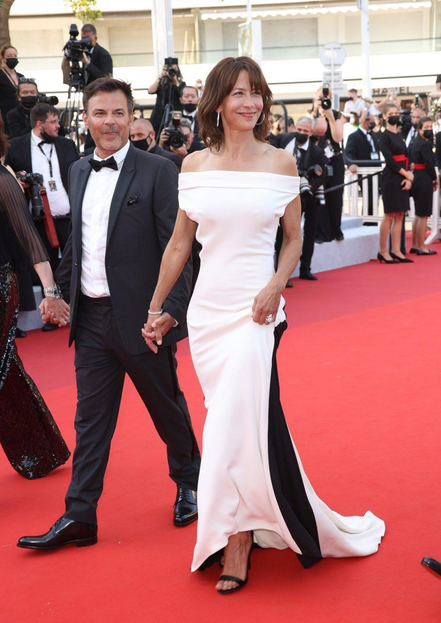 Sophie Marceau in Valentino Haute Couture and François Ozon