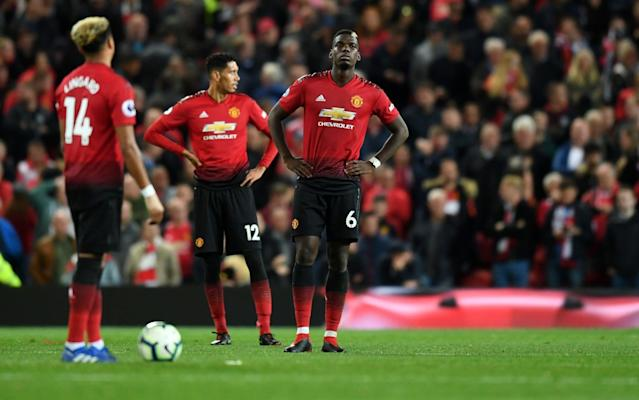 United were crushed at Old Trafford.