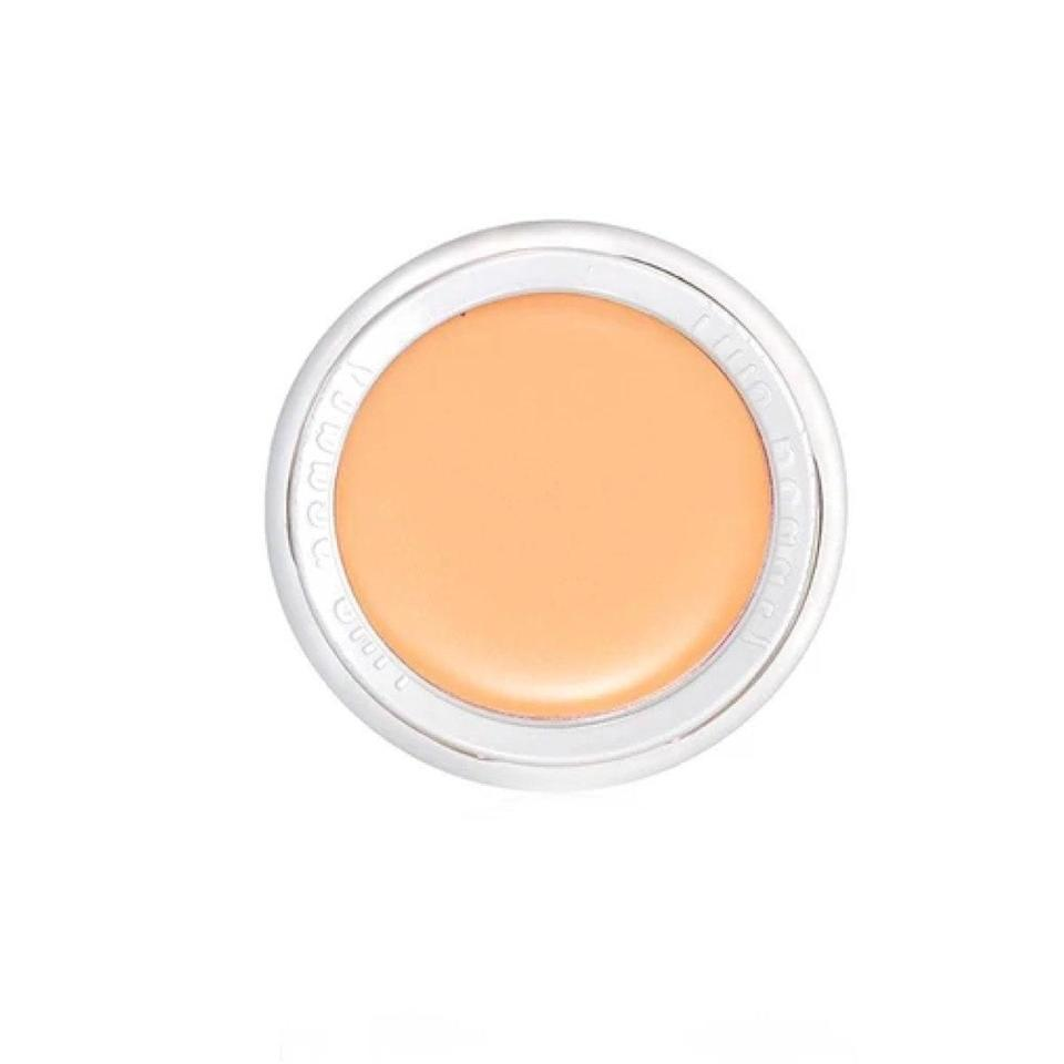 """Makeup artist Rose-Marie Swift filled in all the lines (literally) when creating this """"mini but mighty"""" creamy concealer. Formulated with rich oils like jojoba and coconut, your undereyes will stay hydrated and <a href=""""https://www.glamour.com/gallery/best-cream-eyeshadows?mbid=synd_yahoo_rss"""" rel=""""nofollow noopener"""" target=""""_blank"""" data-ylk=""""slk:creaseless"""" class=""""link rapid-noclick-resp"""">creaseless</a> with a buildable, lightweight concealer such as this one. $36, RMS Beauty. <a href=""""https://shop-links.co/1720901629141116087"""" rel=""""nofollow noopener"""" target=""""_blank"""" data-ylk=""""slk:Get it now!"""" class=""""link rapid-noclick-resp"""">Get it now!</a>"""