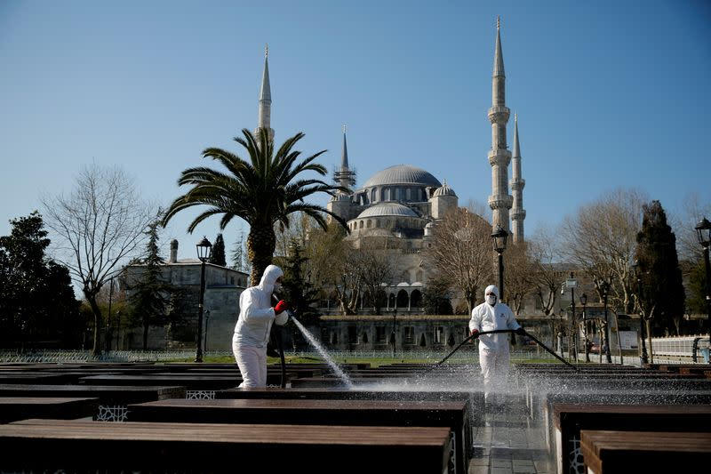 Turkey's economy seemed safer from virus than most. Then outbreak hit home