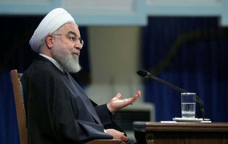Iran eyes cooperation with Iraq, Arab states; pictured is President Hassan Rouhani on October 14, 2019