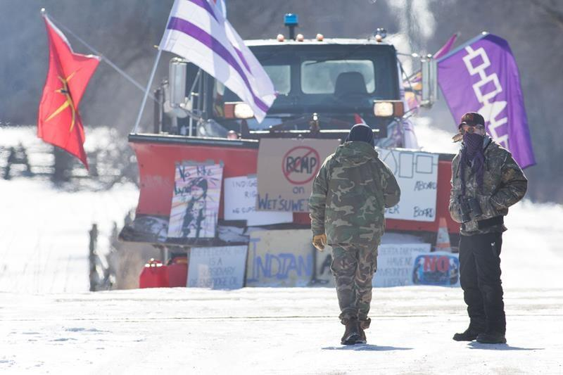 Eastern Ontario rail blockade still in place as provincial police keep watch