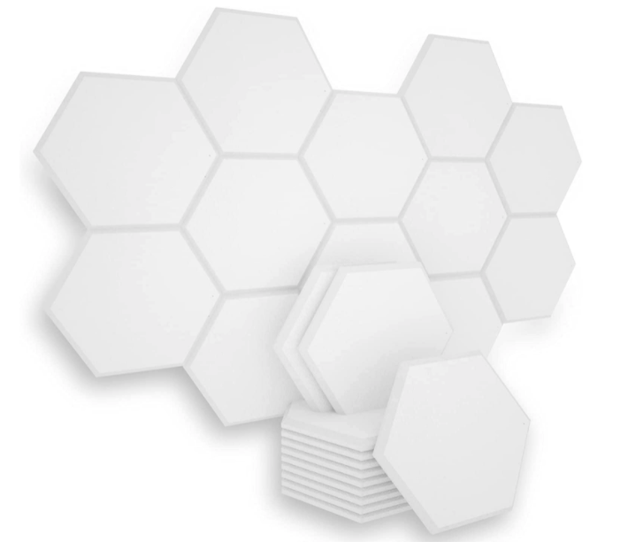 Bubos 6 Pack Hexagon Acoustic Panels