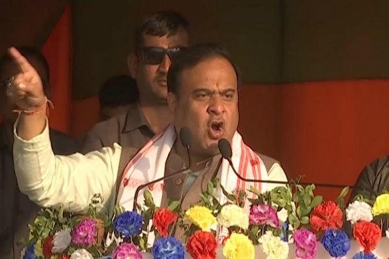 'Rockstar' Himanta Biswa Sarma Shows His Dance Skills During Rally. And Twitter Can't Keep Calm