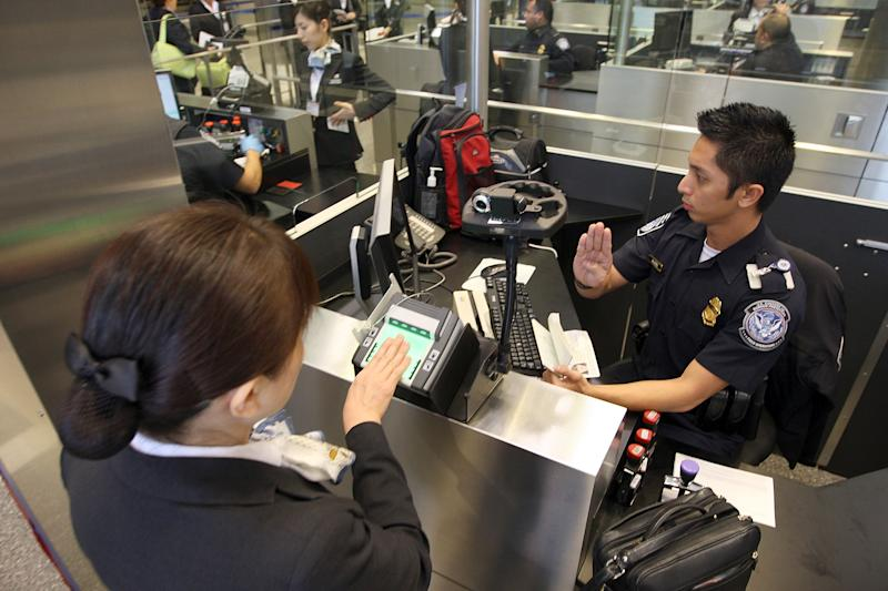 US Customs And Border Patrol Processes Holiday Travelers