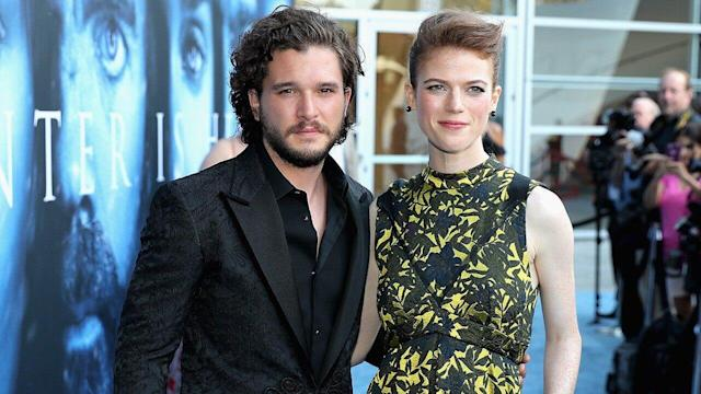 Harington and Leslie are set to tie the knot at her family's castle in Scotland on Saturday.