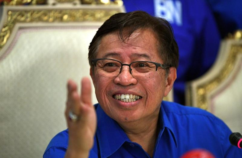 Datuk Patinggi Abang Johari Openg says the Sarawak government will allocate RM11 billion to build roads, bridges and provide water and electricity throughout the state. — Bernama pic