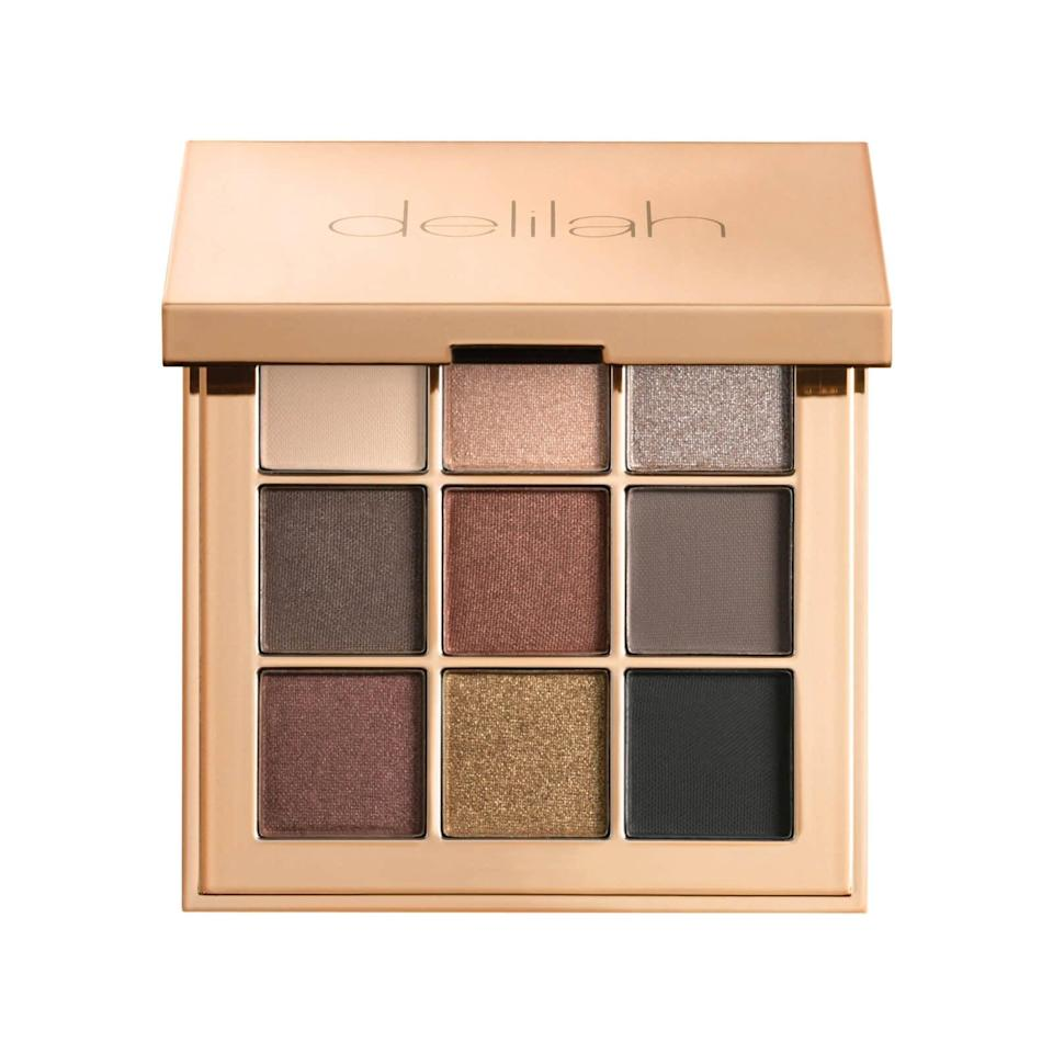 <p>Get the perfect neutral, smoky eye with the <span> Delilah Colour Intense Eyeshadow Palette in Damsel</span> ($24). </p>