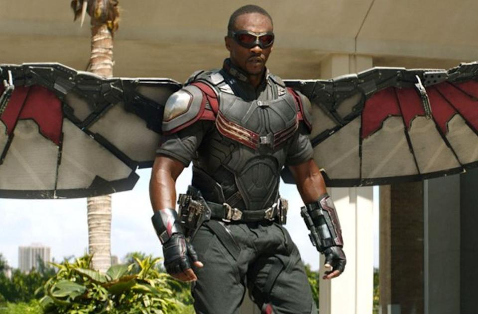 Anthony Mackie as Falcon in The Winter Soldier (credit: Marvel)