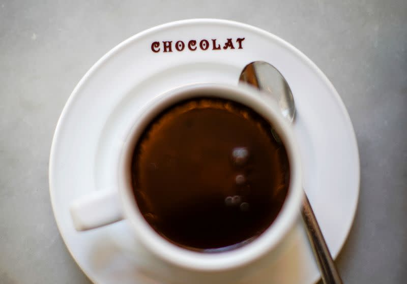 Why your Valentine might want hot chocolate for that walk on the beach