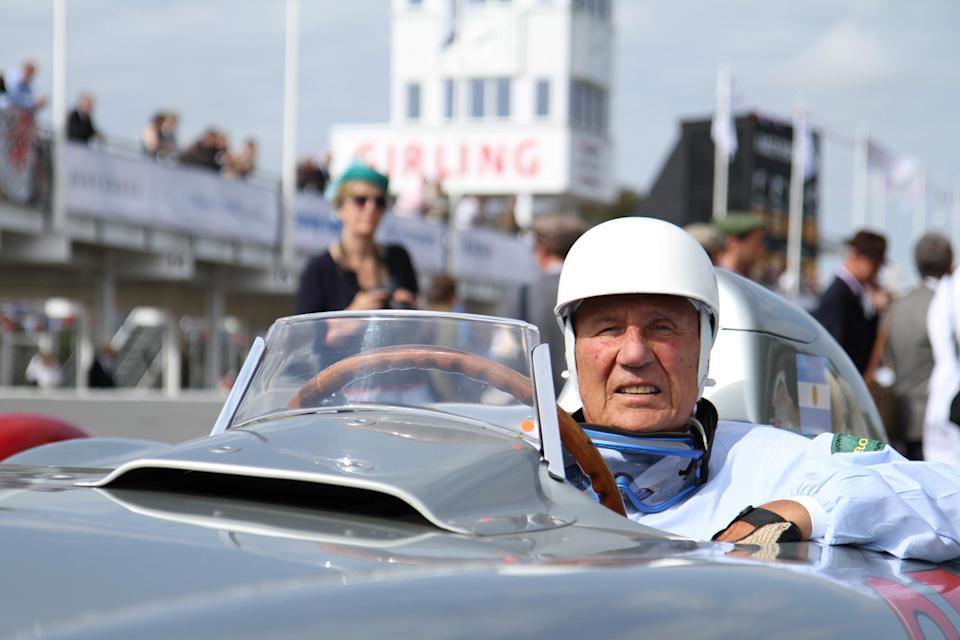 Sir Stirling Moss at Goodwood Revival