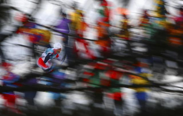 Cross-Country Skiing - Pyeongchang 2018 Winter Olympics - Men's 50km Mass Start Classic - Alpensia Cross-Country Skiing Centre - Pyeongchang, South Korea - February 24, 2018 - Athlete from Norway competes. REUTERS/Carlos Barria TPX IMAGES OF THE DAY