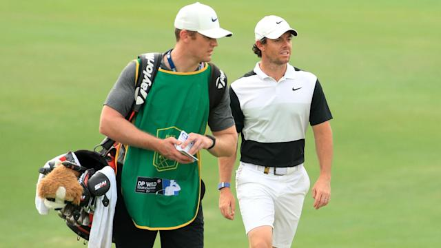 A new caddie will be assisting Rory McIlroy in Dubai as the world number two aims to finish an outstanding 2019 on a winning note.