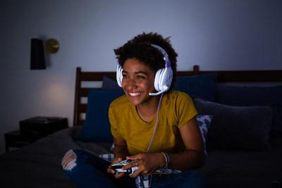 Turtle Beach's all-new Recon Spark gaming headset. Dominating gaming audio on all platforms in a bold new white and lavender look. Available Sunday, July 28, 2019 exclusively at Target stores and at www.turtlebeach.com for a MSRP of $49.95.
