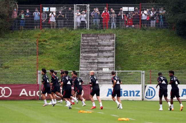 Fans barred from Bundesliga opener at Bayern Munich