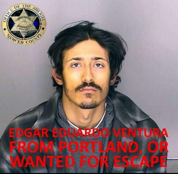 PHOTO: Edgar Eduardo Ventura is seen in this undated photo released by the Merced County Sheriff's Office. (Merced County Sheriff's Office via Facebook)