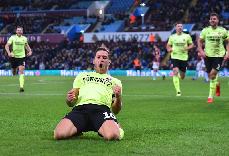 Billy Sharp is hoping to fire Sheffield United into the Premier League with promotion this season.