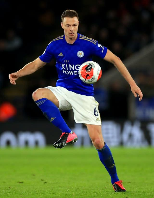 Jonny Evans is set to be offered a new contract to stay at Leicester (Mike Egerton/PA))