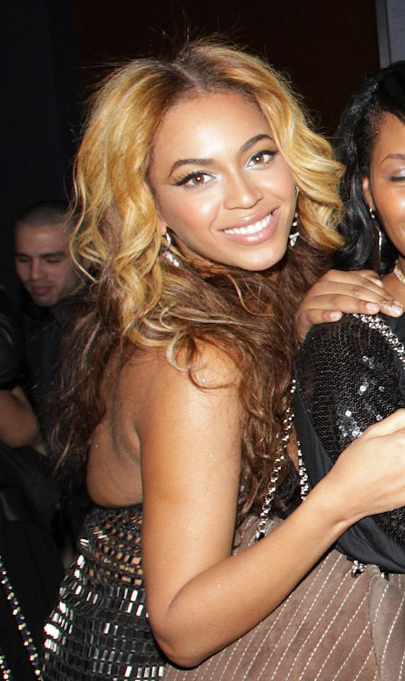 """Of course, Jay-Z's beautiful wife Beyonce was also on hand to help host the bash. Johnny Nunez/<a href=""""http://www.wireimage.com"""" target=""""new"""">WireImage.com</a> - March 2, 2010"""