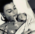<p>Coleen and Wayne Rooney will have their own football team soon as the couple have announced they have welcomed their fourth son. Coleen took to Twitter to announce the new addition and reveal that they have broken with the 'K' name tradition by decided to call their son Cass Mac. The newborn joins older brothers Kai, eight, Klay, four, and Kit, two. <em>[Photo: Instagram/coleenrooney]</em> </p>