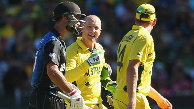 Haddin defends sledging in World Cup final