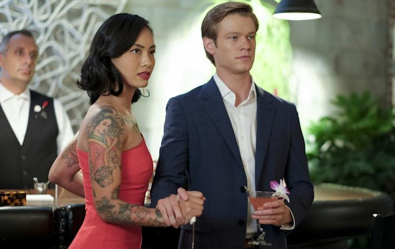 "Levy Tran and Lucas Till in ""MacGyver"" on CBS."
