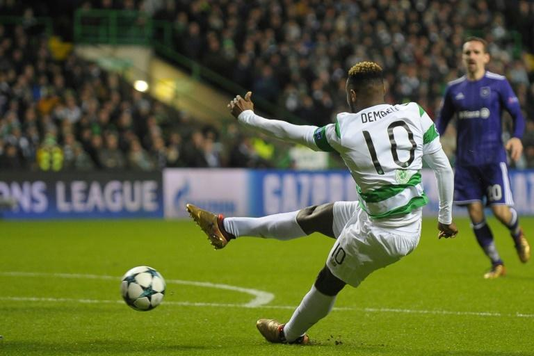 Celtic's Moussa Dembele is unlikely to face Rangers on Sunday
