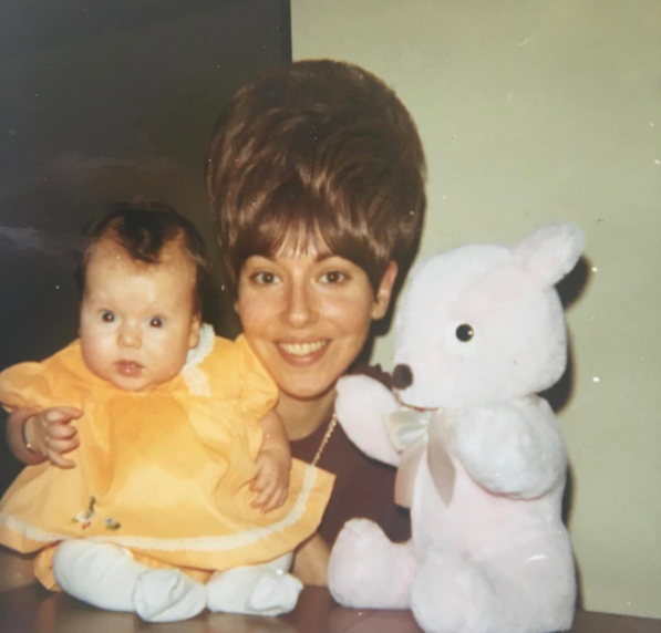 "<p>Ripa also showed some love for her mom, Esther, with a throwback from 1970. ""Happy Mother's Day mom! Not sure how you did it, but you balanced me and your wig and the same time and made it look easy!"" she quipped. ""I love you."" (Photo: <a href=""https://www.instagram.com/p/BUE3sHWjZqh/"" rel=""nofollow noopener"" target=""_blank"" data-ylk=""slk:Kelly Ripa via Instagram"" class=""link rapid-noclick-resp"">Kelly Ripa via Instagram</a>) </p>"