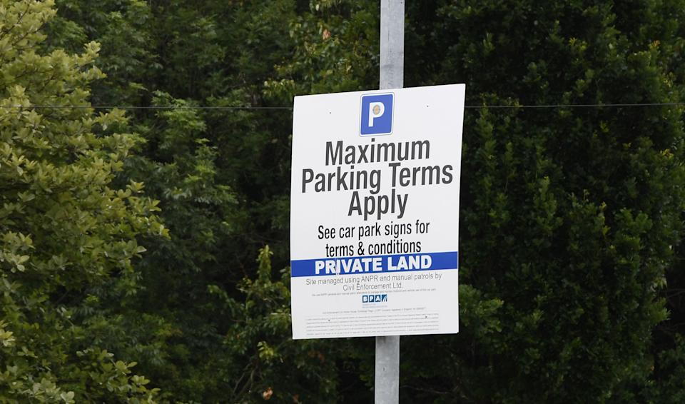 Customers were shocked to be hit with £100 parking fines for waiting too long in the privately-owned car park (Picture: Liverpool Echo)