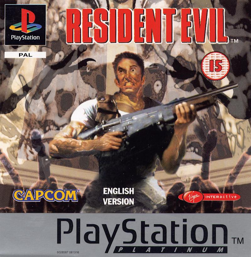 Box art for the original Resident Evil (Platinum Edition) for the PlayStation. (Capcom)
