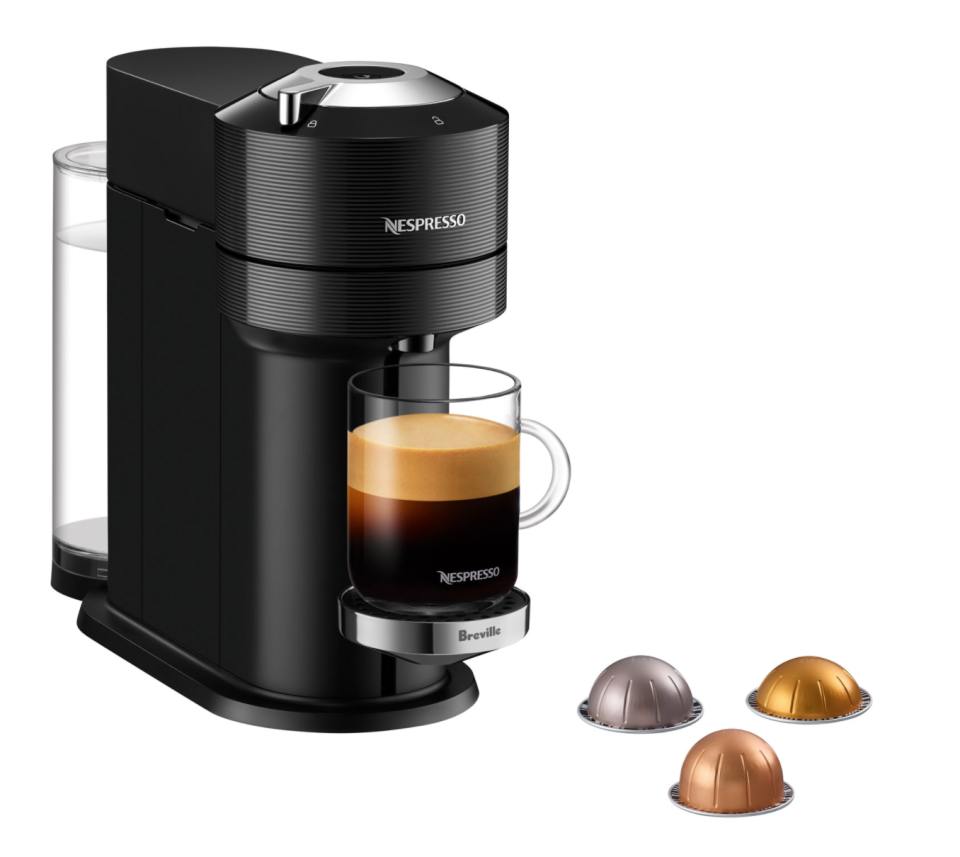 Nespresso Vertuo Next Premium Coffee & Espresso Machine by Breville (Photo via Best Buy Canada)
