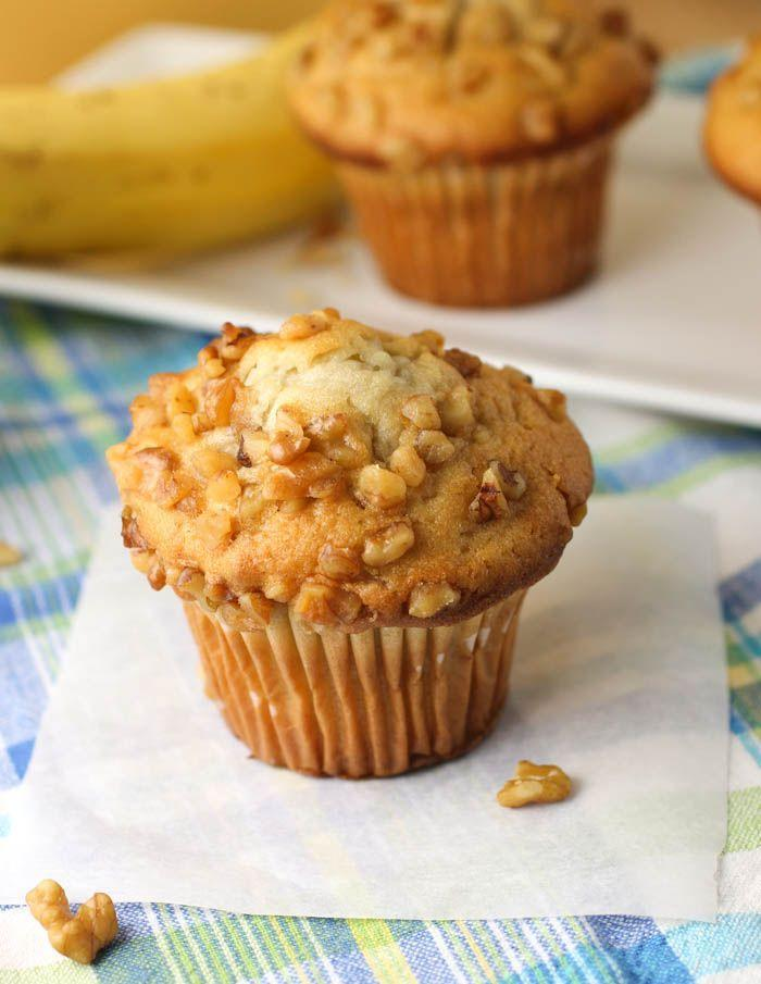 "<p>Want some crunch? Throw some nuts in there.</p><p>Get the recipe from <a href=""http://citronlimette.com/recipe_archive/breakfast/banana-nut-muffins-recipe/"" rel=""nofollow noopener"" target=""_blank"" data-ylk=""slk:Citron Limette"" class=""link rapid-noclick-resp"">Citron Limette</a>.</p>"