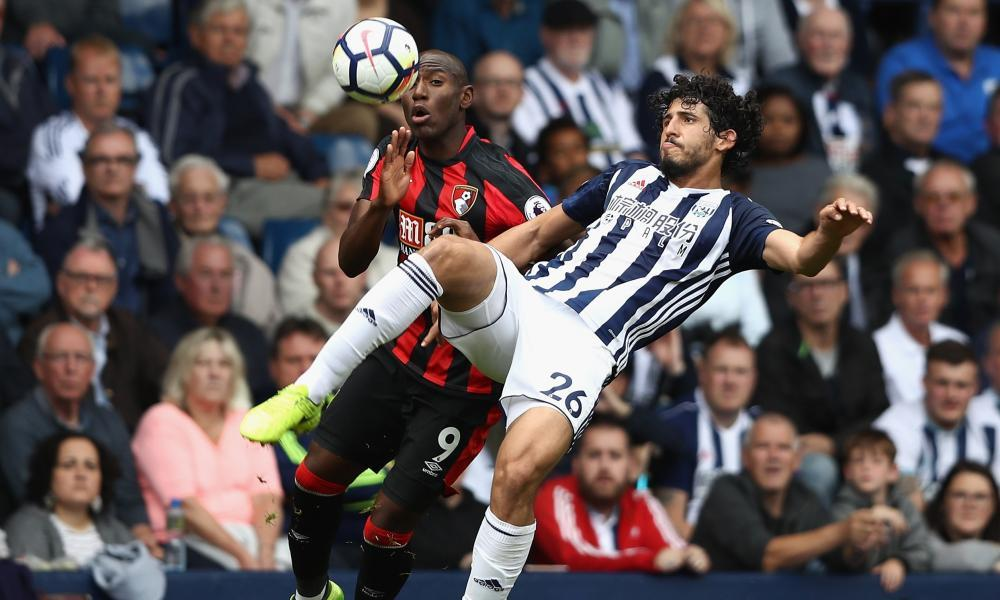 Ahmed Hegazi caps West Bromwich debut with winner against Bournemouth