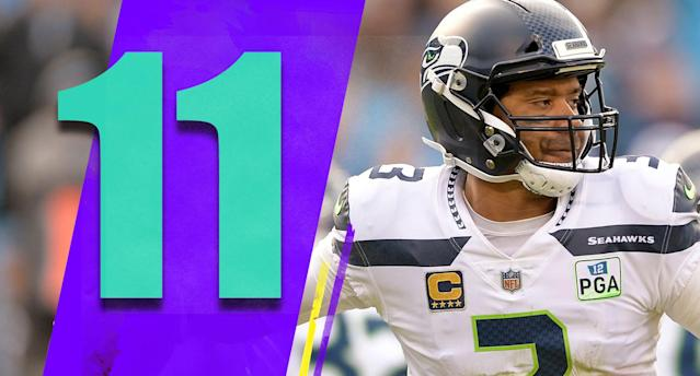 <p>The Seahawks had to survive a stretch of games against the Chargers, Rams, Packers and Panthers. They did that. Seattle is in good shape with five games to go. (Russell Wilson) </p>