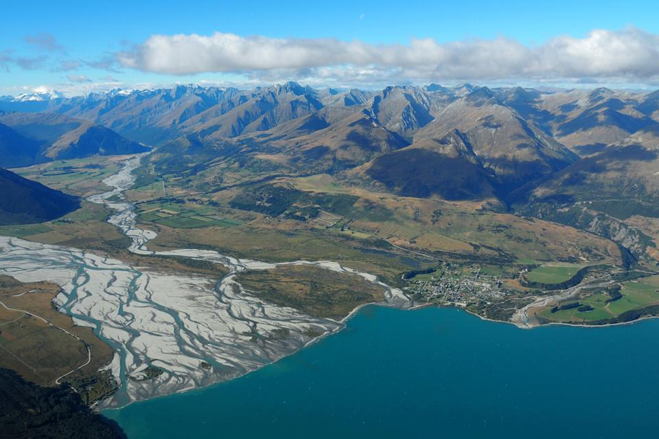 The town of Glenorchy in New Zealand's South Island (REUTERS)