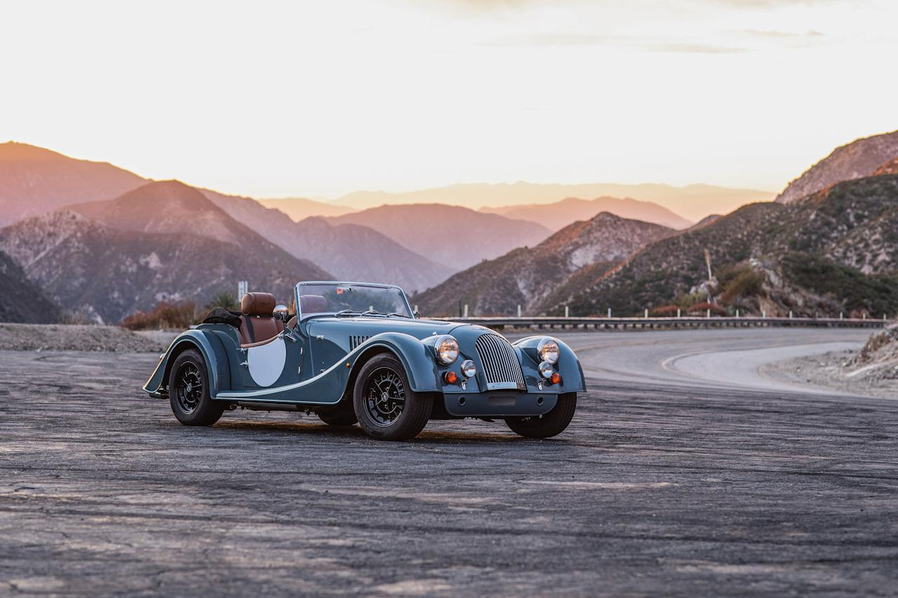 """<p>Read the full story <a href=""""https://www.caranddriver.com/reviews/a29792622/2020-morgan-plus-4-drive/"""" target=""""_blank"""">here</a>.</p>"""