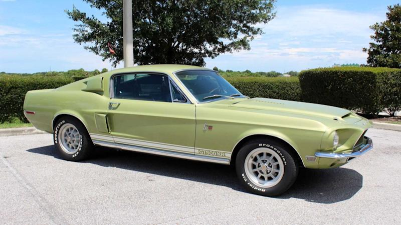 1968 Shelby GT500 KR Rules Over All