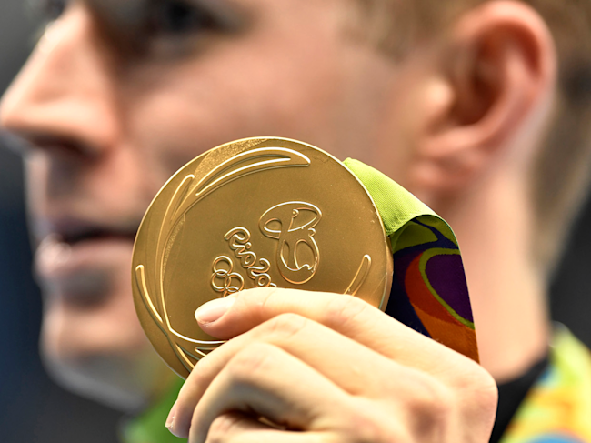 rio olympic medal