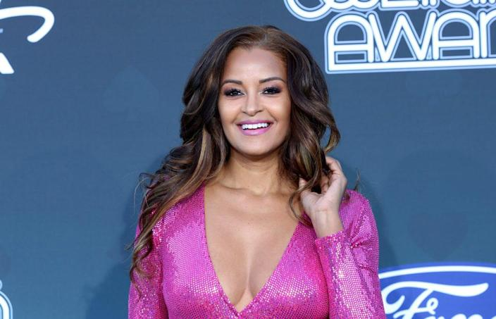 Claudia Jordan attends the 2019 Soul Train Awards at the Orleans Arena on November 17, 2019 in Las Vegas, Nevada. (Photo by Gabe Ginsberg/Getty Images)