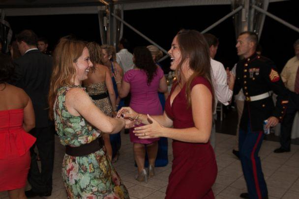 PHOTO: Shannon Kent, left, dances with her younger sister Mariah Smith. Senior Chief Cryptologic Technician (Interpretive) Kent and three other Americans were killed in an ISIS suicide attack in northern Syria on Jan. 16, 2019. (Shannon Kent's Family)