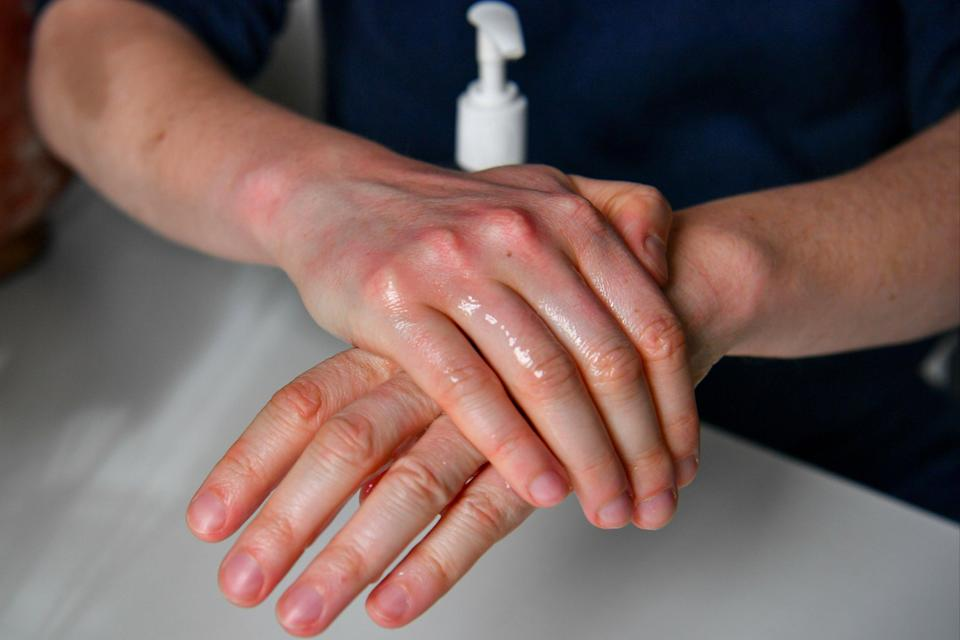Hand sanitisers need an alcohol content of between 60 per cent and 90 per cent to be deemed effective against Covid-19 (PA)