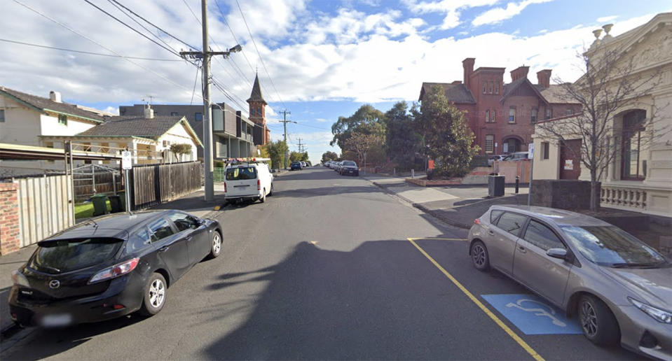 James Street in Northcote is pictured.