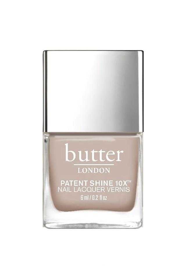 """<p><strong>butter LONDON Sandy Crème Nail Lacquer</strong></p><p>amazon.com</p><p><strong>$12.00</strong></p><p><a href=""""http://www.amazon.com/dp/B07R11N1Y6/?tag=syn-yahoo-20&ascsubtag=%5Bartid%7C10058.g.3965%5Bsrc%7Cyahoo-us"""" target=""""_blank"""">SHOP IT</a></p><p>This timeless, sandy neutral will carry you through all seasons and complement every #OOTD. </p>"""