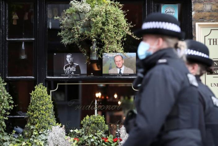 Britain mourns the death of Prince Philip